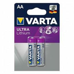 BATTERIA VARTA LITHIUM AA STILO 2x                  (C10) 1B