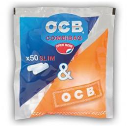 FILTRI OCB 6mm BUSTA MINI + CARTINA ORANGE   P.D00141002 20x
