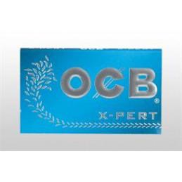CARTINA OCB CORTA X-PERT DOPPIA BLU                       25