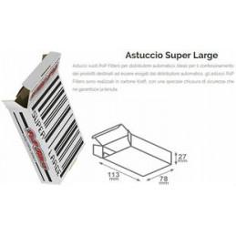 ASTUCCI VUOTI DISTR. POP FILTERS EXTRA/SUPER LARGE 150pz